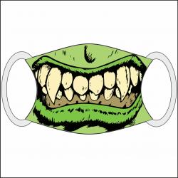 Masque bouche Hulk
