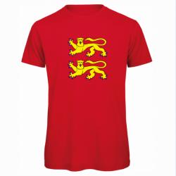 """T-shirt Bio Homme """"NORMANDIE"""""""