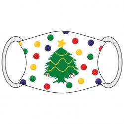 """Masque moche de Noël """"sapin"""""""