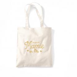 """Tote bag """"une mamie en or"""""""