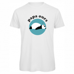 """t-shirt """"Papa Ours"""""""