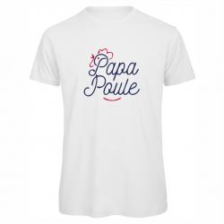"""t-shirt """"Papa poule"""""""