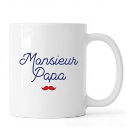 "Mug ""monsieur papa"""