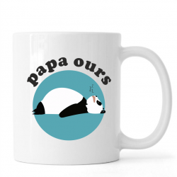 "Mug ""papa ours"""