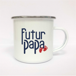 "Mug incassable ""Futur papa"""