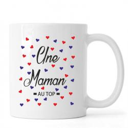 "Mug ""une maman au top"""