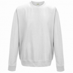 Sweat-shirt col rond mixte - Marquage 60 lavages