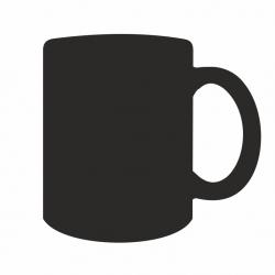 Dessin d'un mug magique noir.