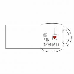 "Mug ""Thé mon indispensable"""
