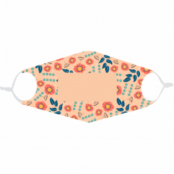 Masque fleurs(2) à...
