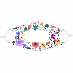 Masque fleurs(4) à...