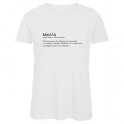 t-shirt définition maman