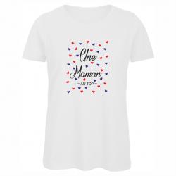 t-shirt une maman au top